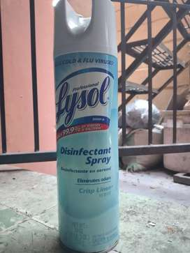 Lysol desinfectante spray