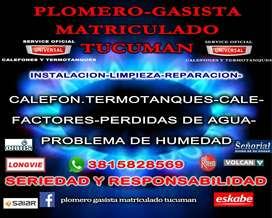 SERVICIO TÉCNICO OFICIAL CALEFONES Y TERMOTANQUES UNIVERSAL TUCUMAN
