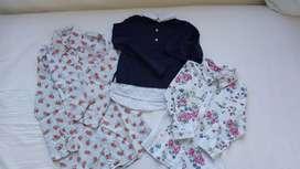Camisas niña talle 6