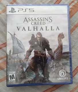 PS5 Assassin's Creed Valhalla nuevo y sellado
