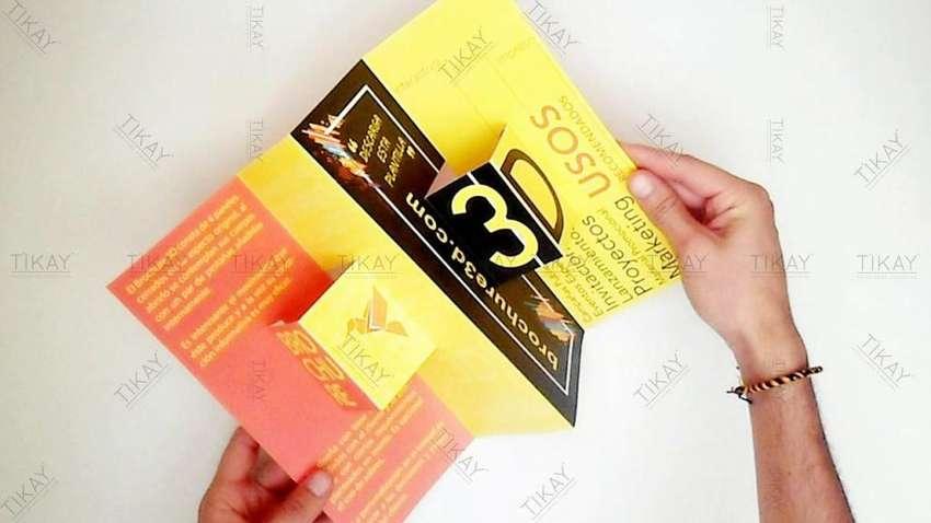 Diseño Gráfico, diseño de Brochures Corporativos, Catálogos, papelería Empresarial, Trípticos, folletos. 0
