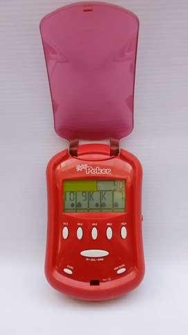 Juego de poker fliptop electrónico RADICA usado