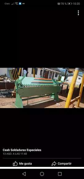 En Fabricacion bonitas Dobladoras y cortadoras de tool