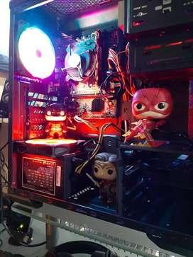 PC GAMER CON VIDEO INTEGRADO Y DEDICADO y 16GB DE RAM ESPPECIAL PARA TRABAJOS PESADOS O JUEGOS.