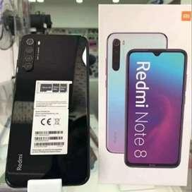 Xiomi Redmi Note 8  64gb. NUEVO. Acepto tarjetas y celulares. Con garantia y envíos.