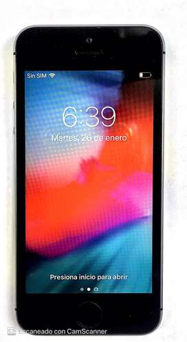 Iphone 5 S Negro , 16 Gb