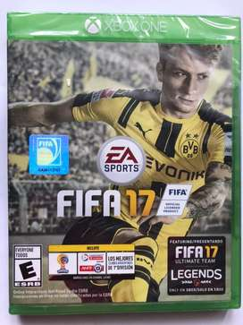 Fifa 17 Ultimate Team Legends Xbox One Nuevo Sellado Físico