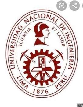 Asesoría preuniversitaria /Asesoría universitaria de 1er a 4to ciclo de Ingeniería Civil