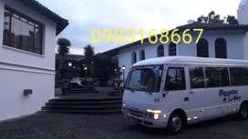 Fletes viajes turismo buseta furgoneta
