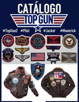 Kit Parches Top Gun - Tipo Piloto