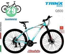 Bicicleta QUEST Q500 ARO29 Trukesa - Shimano