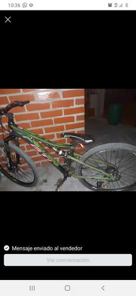 Bicicleta Aro 29 doble suspensión GT
