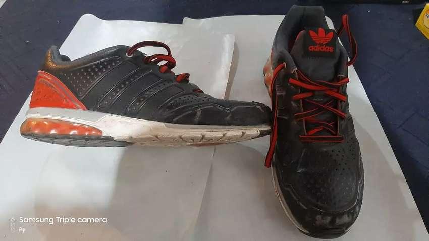 Zapatillas adidas Cuero Original (usadas) 0