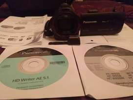 Video cámara .panasonic HC v750