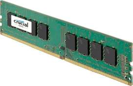 Memoria Ram 4gb Crucial Pc Ddr4 Pc 2666 Mhz.