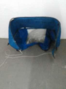 Chubasquera para escotilla velero h/27 pies, inox y sumbrella