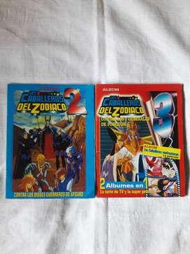 Albumes Los Caballeros Del Zodiaco Lote 3 COMPLETOS!!!
