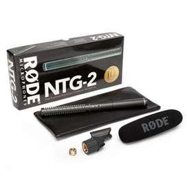 Micrófono de campo RODE NTG2