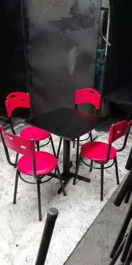 Sillas y mesas para negocio, bar, restaurantes, cafeteria