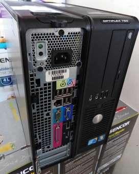 Computador Optiplex 780 Solo Torre 4GB RAM 160GB DDR3 Corporativo Excelente estado