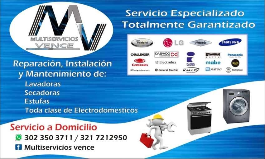 SERVICIO TÉCNICO ESPECIALIZADO EN LAVADORAS Y SECADORAS. 0
