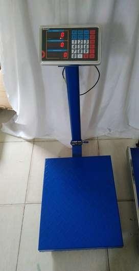 Báscula para 100 kg.