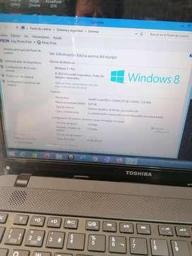 Laptop Toshiba i3