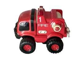Tractor Rojo De Plastico