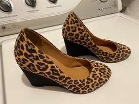 Zapatos animal print magnolia