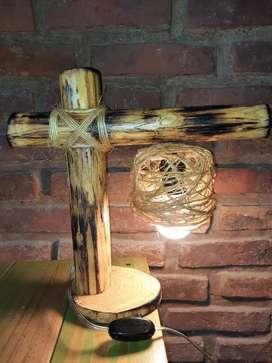 Velador de mesa artesanal