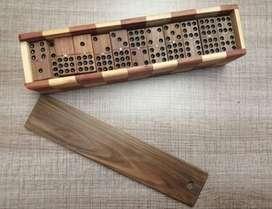 Domino En Madera Doble 9 X 55 Fichas