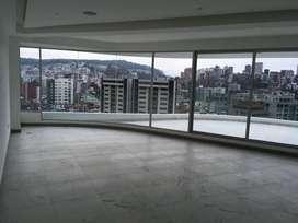 Departamento dos dormitorios 170 m. terraza 53m., Carolina, con vista