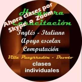 CLASES ONLINE DE INGLES SKYPE - ZOOM - WHATSAPP