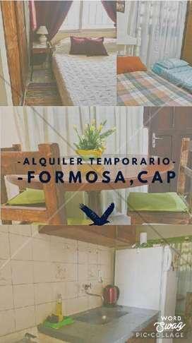 Dpto temporario en Formosa