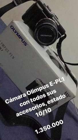 Cámara Olympus E-pl1