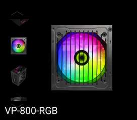 Fuente De Poder Gamemax Vp-800-rgb-m 80plus