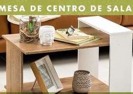Se vende mesa de centro de sala en mdf