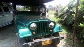 Jeep willys modelo 66