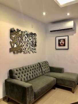 Mueble de sala estilo L