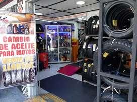 Venta de negocio de lubricantes y llantas para motos