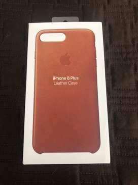 Carcasa en Cuero Apple