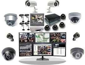 Instalación de Cámaras de Seguridad, Alarmas Control de Acceso