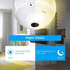 Camara bombillo vision panoramica 360