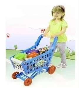 Carrito De Mercado Niños Y Niñas Juguete Nuevo