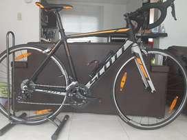 Bicicleta scott speedracer 2x9 grupo sora