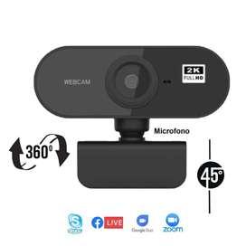 Cámara Web 2560p 2k con Micrófono integrado Webcam