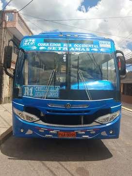 Lindo bus volkswagen 17-210 con derechos y acciones