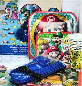 Kit cumpleaños Mario Bross