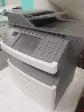 Impresora Multifuncional X464