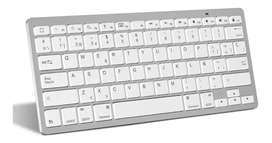 Mini Teclado Inalámbrico Bluetooth Mac, iPad, Pc